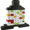 CALENDARIO PERPETUO LEGO